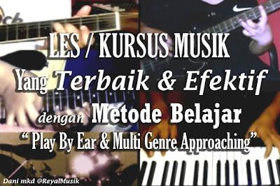 Tempat Belajar Gitar, Piano Keyboard, Bass, Drum Di Jakarta Timur