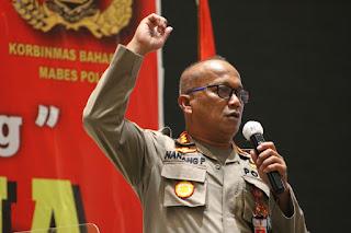 Kakorbinmas Baharkam Polri Tutup Pelatihan Security Manager Training Gada Utama PT. Diana Abadi Santosa.