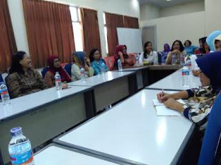 Audiensi NONMIN ke Dharmawanita TVRI