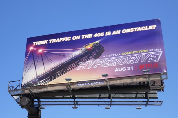 Hyperdrive series premiere billboard