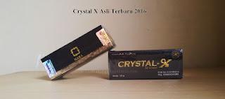 Gambar Kemasan Crystal X Asli Terbaru 2016