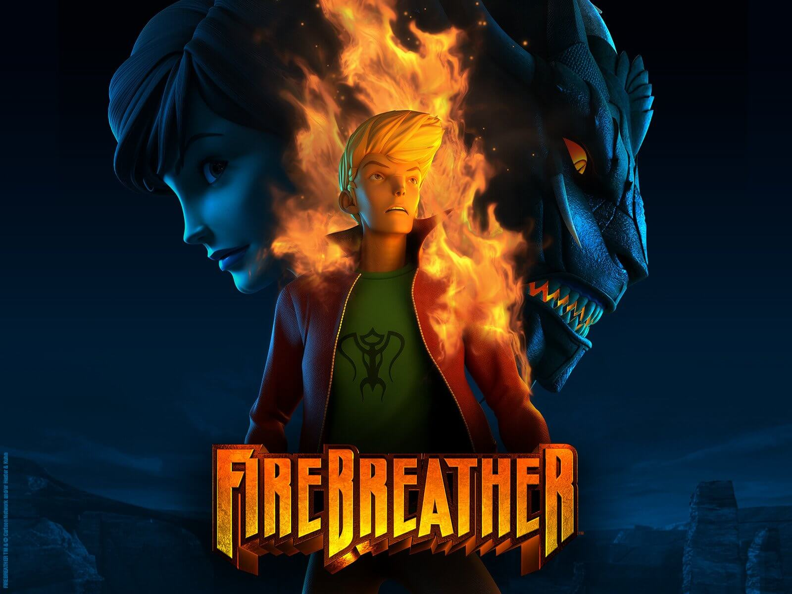 فيلم انيميشن Firebreather بلوراي 1080P مترجم اون لاين تحميل و مشاهدة