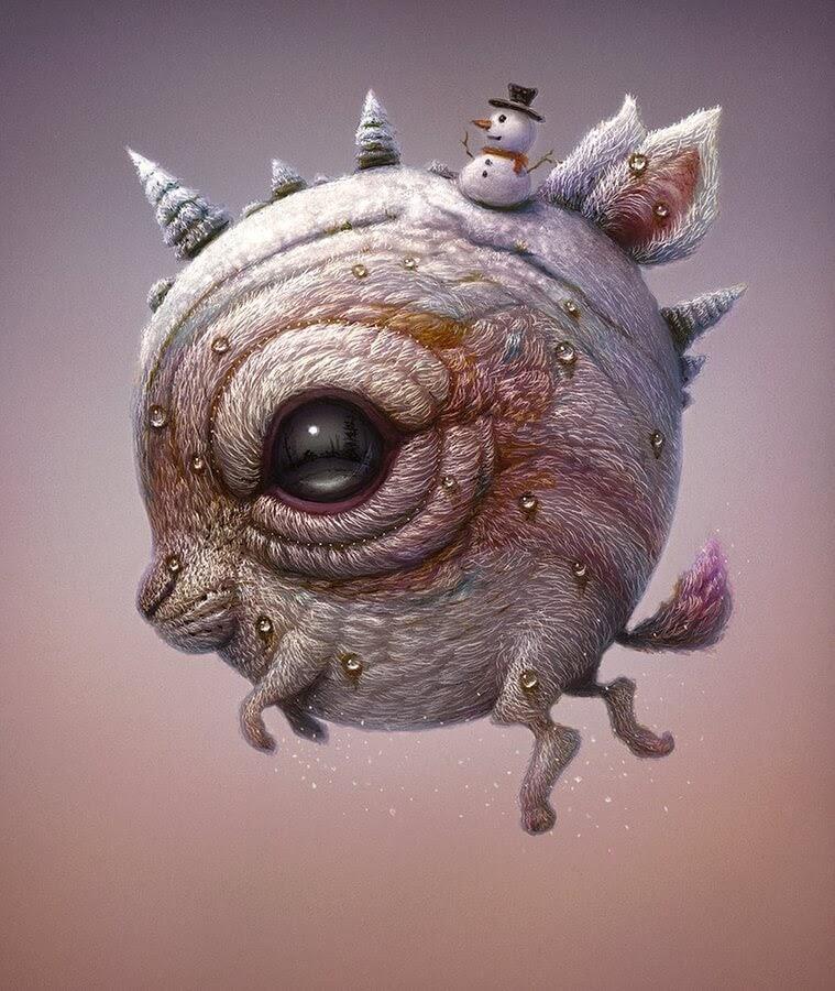 07-Winter-creature-Surreal-Creature-www-designstack-co