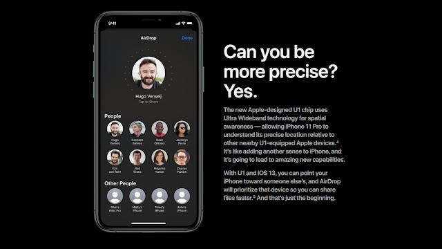 Sabemos un poco más del Chip U1 como novedad del iPhone 11