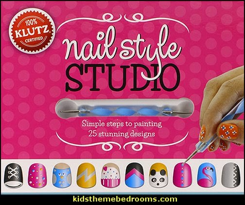 nail art design ideas - Klutz Nail Style Studio Book Kit