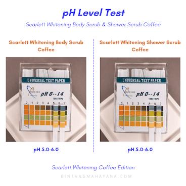 pH-level-test-result-scarlett-whitening-coffee-body-scrub-shower-scrub-bintangmahayana-com