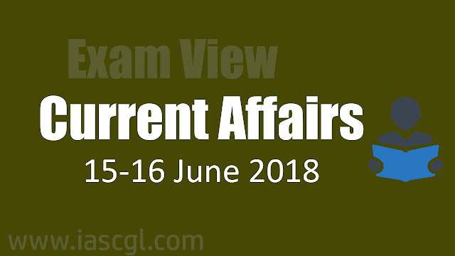 Current Affair 16 June 2018