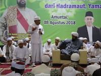 Habib Alwi Bin Abdullah Bin Husein Al-Idrus Sejukkan Jamaah di Kota Amuntai
