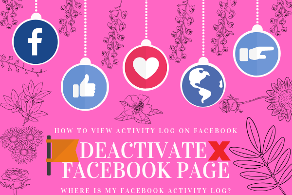 How Deactivate Facebook Page<br/>