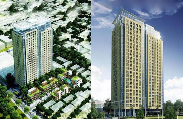 Phối cảnh dự án chung cư Mon Central