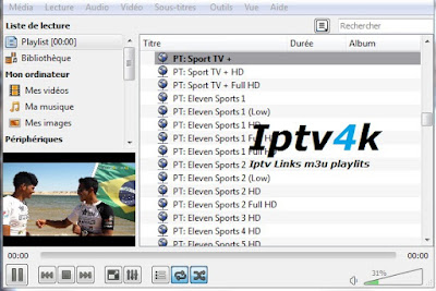 Liste Iptv M3u Playlists German Channels Vlc