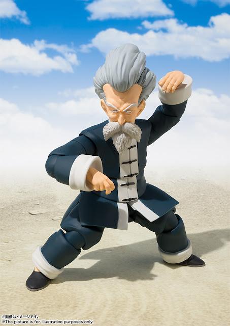 S.H.Figuarts Jackie Chun de Dragon Ball - Tamashii Nations