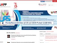 Rekrutmen Non PNS Staf Pendukung Database Admin - Lembaga Kebijakan Pengadaan Barang dan Jasa Pemerintah Juli 2019