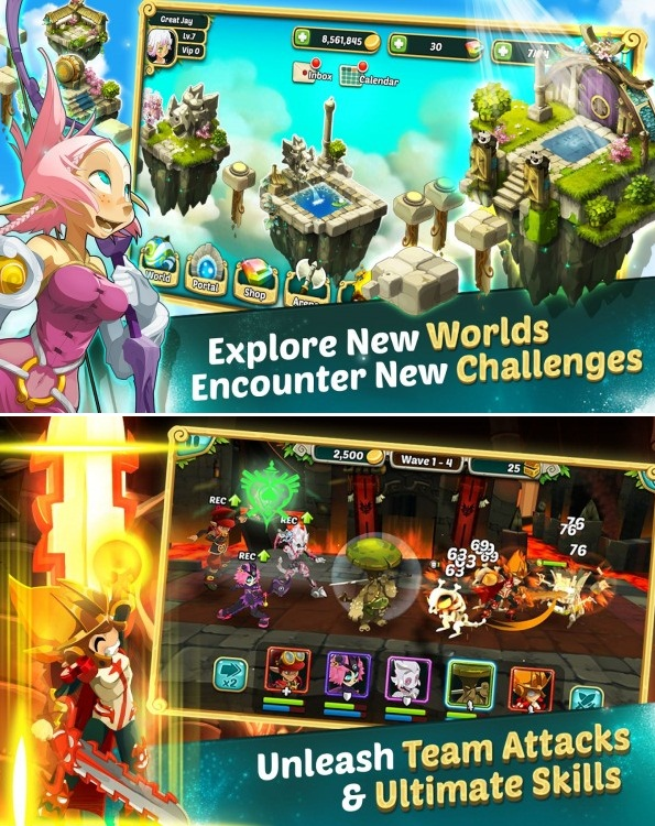 Download Wakfu Raiders Apk v3.1.0 (Mega Mod)