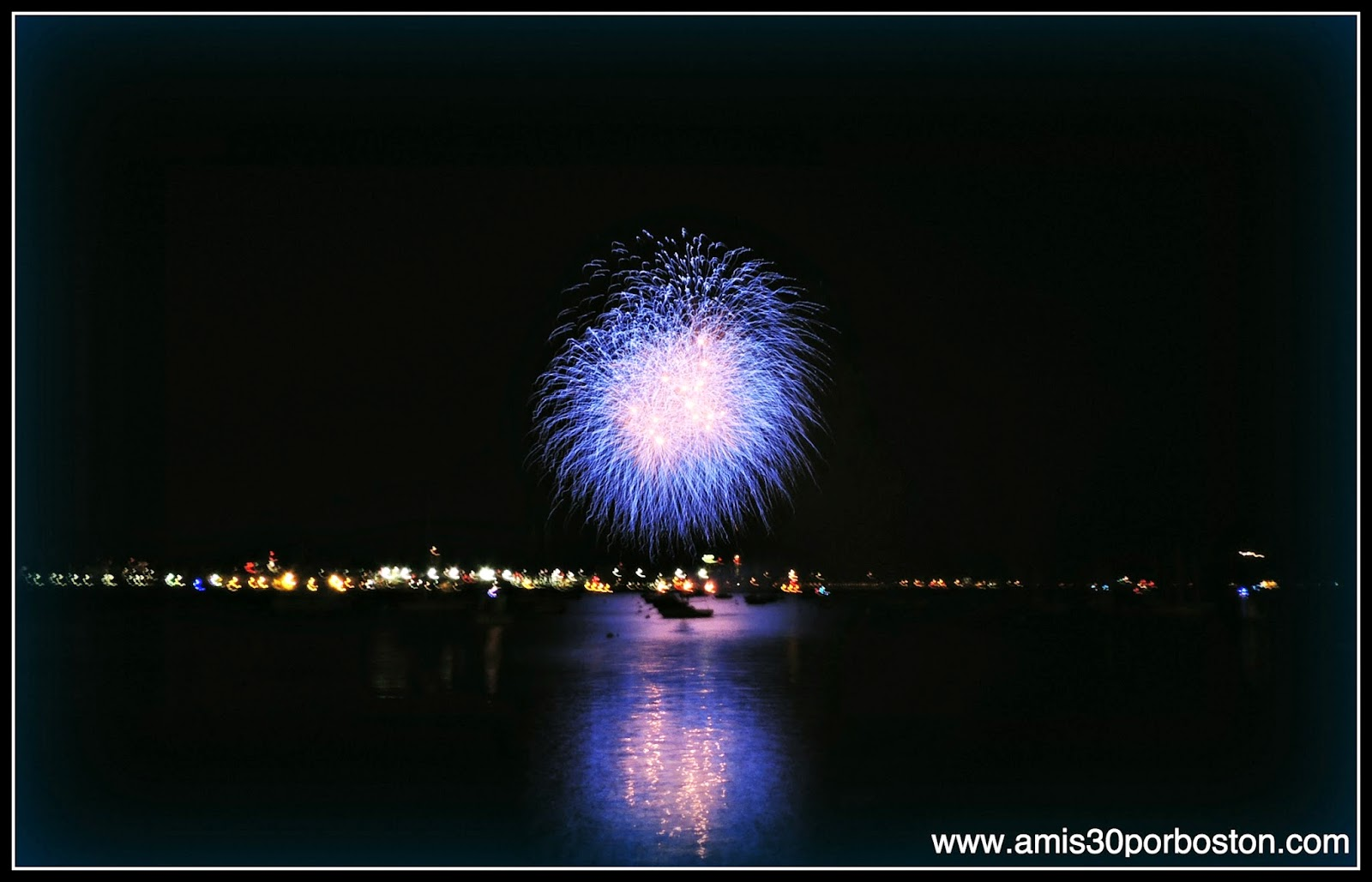 Fuegos Artificiales en Boston