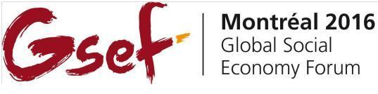 Παγκόσμιο Συνεδρίο 2016 Global Social Economy Forum.