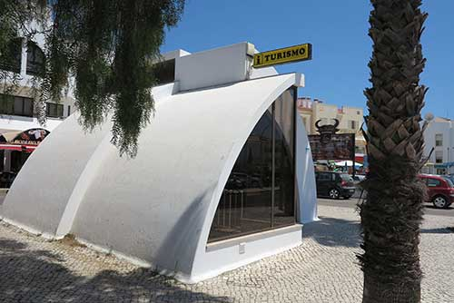 Tourist Offices in Albufeira, Algarve, Portugal.