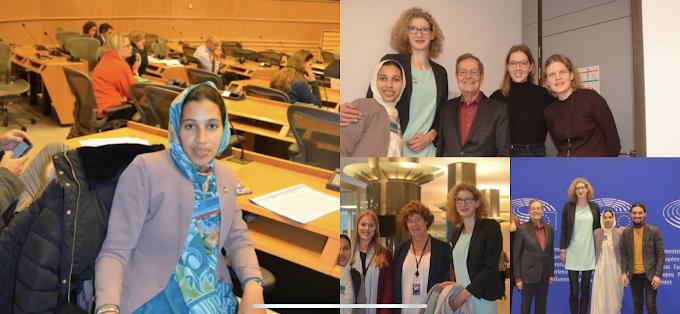 إتحاد الشبيبة الصحراوية يشارك في أشغال الأسبوع الأوروبي لأحزاب الخضر.
