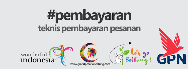 Pembayaran granit Pesona Belitung