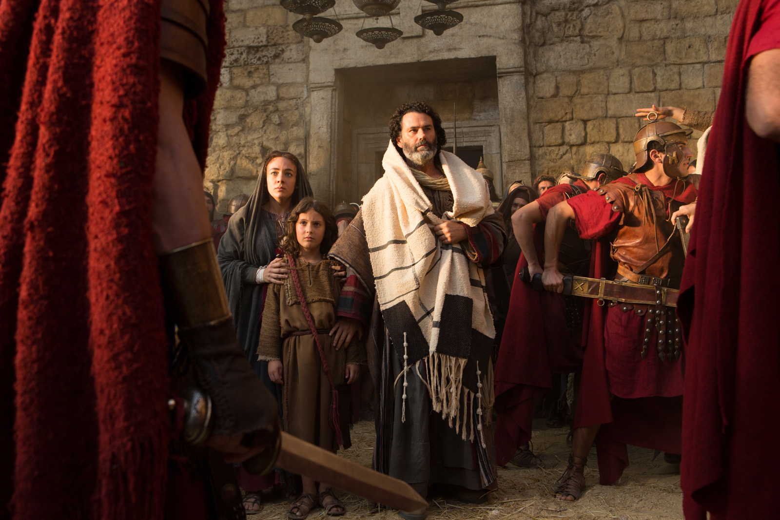 a scene from The Young Messiah