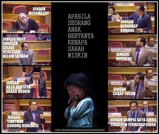 Image result for Gambar miskin di Sabah
