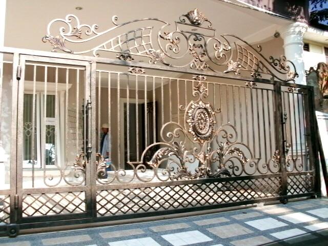 harga gambar pagar rumah mewah model pagar rumah mewah