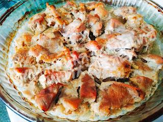 свинина запеченная в духовке в кефирном маринаде
