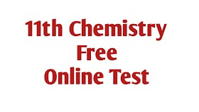 11th Chemistry online test