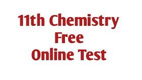 11th standard Chemistry unit 1 online test