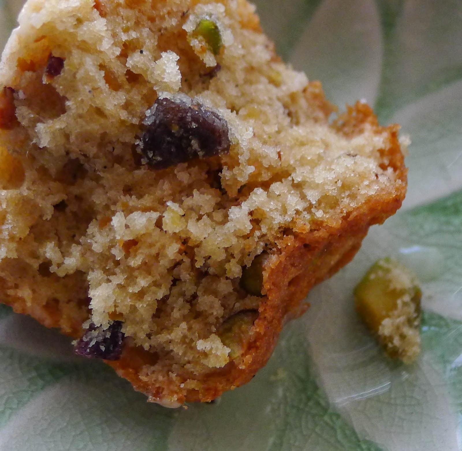 Pistachio And Olive Oil Cake Le Champignon Sauvage