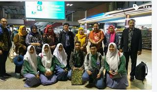 Madrasah Go Internasional; 9 Pelajar Madrasah Aliyah DU PUI Majalengka Timba Ilmu di Thailand