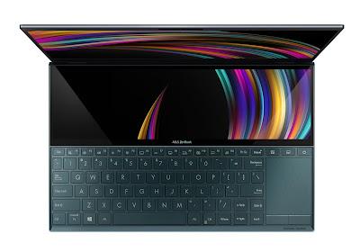 ASUS anuncia ZenBook Duo (UX481) com o revolucionário ScreenPad Plus