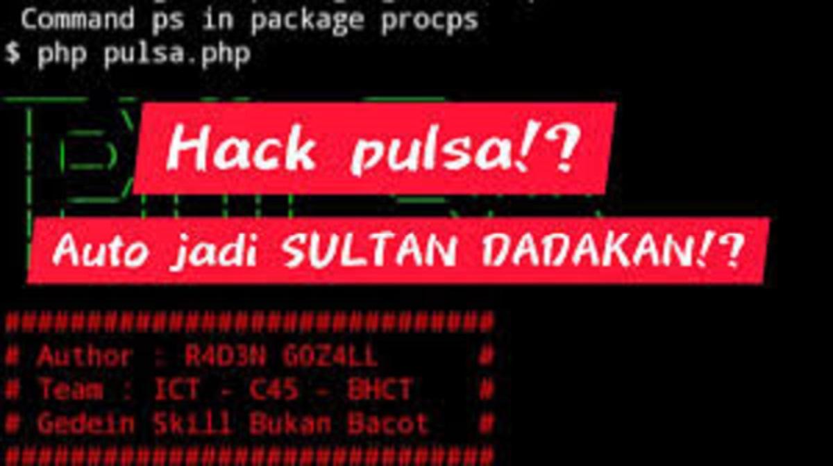 Cara Hack Pulsa Termux