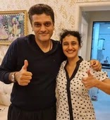 ragini khanna with her brother