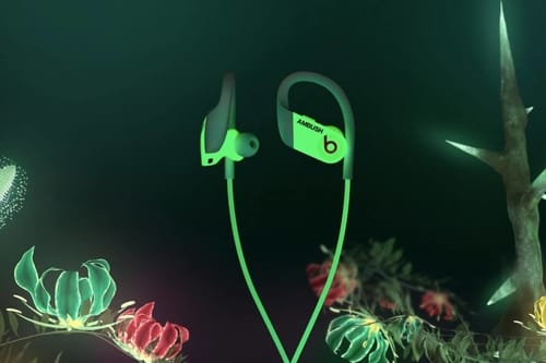 Beats release luminous-in-the-dark Powerbeats headphones