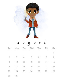 Calendario 2020 de Stranger Things para Imprimir Gratis.