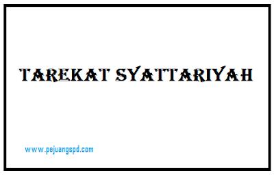Tarekat Syattariyah: Tujuan dan Isi Tarekat Syattariyah