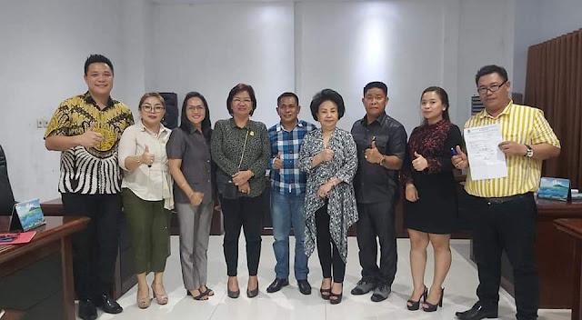 AKD Selesai , Parasan Jabat Ketua   Komisi 1 DPRD Kota Manado