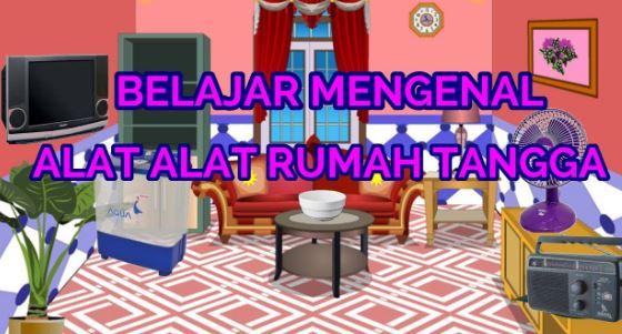 perabotan rumah tangga dalam bahasa inggris