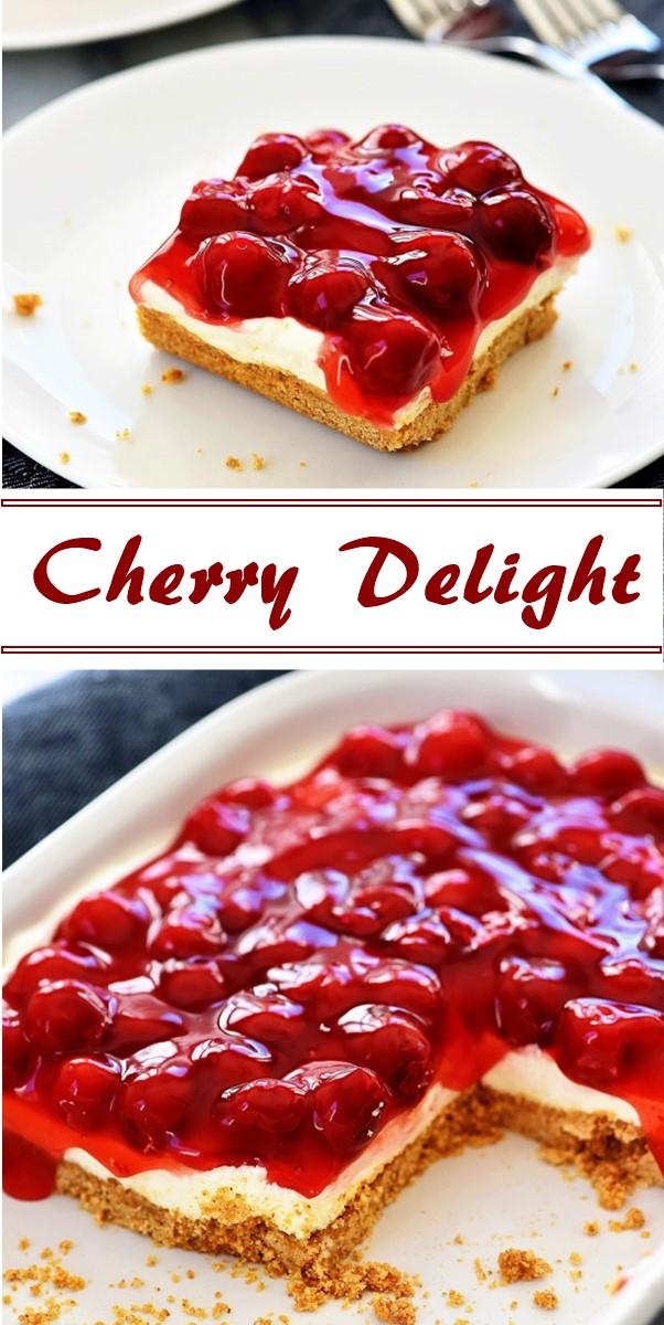 Cherry Delight #dessertrecipes