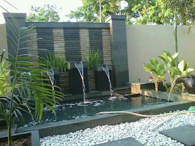 Biaya Pembuatan Air Mancur (Water Wall)