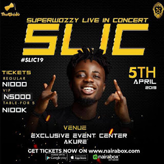 #SLIC19: Superwozzy, Zlatan Ibile, Poco Lee and others to storm Akure in April 5