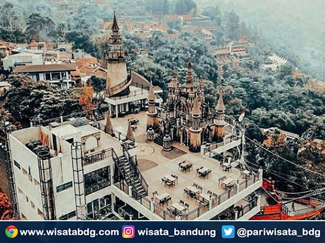 Mercusuar Cafe and Resto, Destinasi Wisata Kuliner Instagramable di Bandung Utara