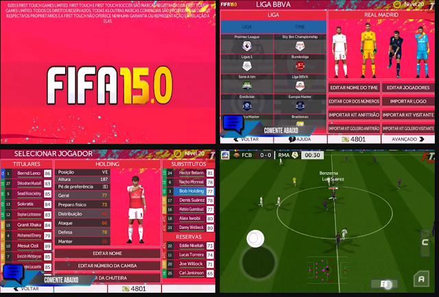 Anda jangan lupa untuk Unduh juga file  Download FTS 15.0 Mod by Dinheiro Update Transfer