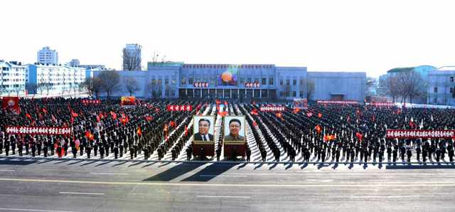 (1) DPRK Army-People Rallies in Different Provinces