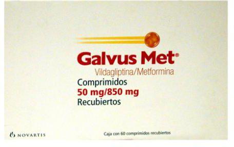 سعر ومواصفات دواء جالفس مت Galvus Met  لعلاج مرض السكري