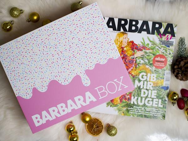 "Barbara Box ""Sahneschnitte"""