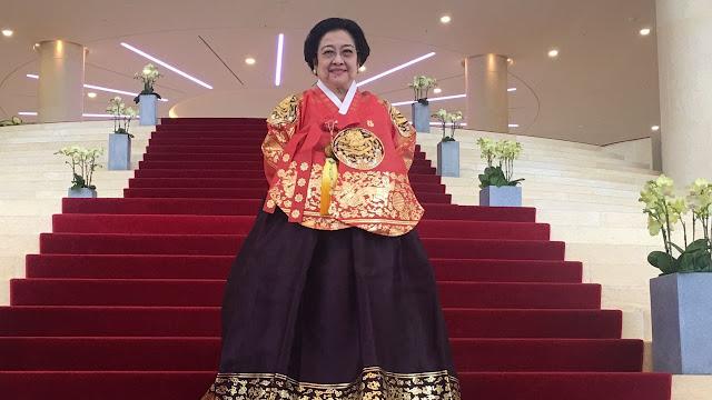 Megawati Akan Terima Gelar Kehormatan Ke-8 Di Fuzhou