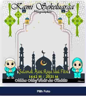 download twibbon idul fitri 2021