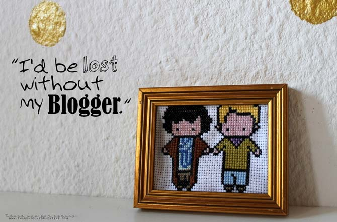 Cross Stitch Stickbild Sherlock John Watson Johnlock